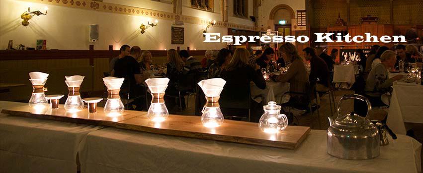 Espresso kitchen - chemex brewbar*