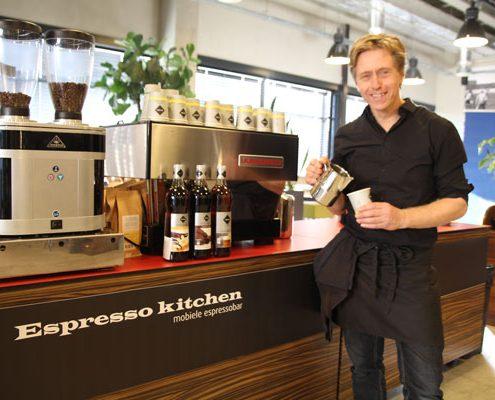 barista huren - koffiebar op locatie huren koffiebar op beursstand
