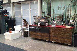 koffiebar op locatie winkelcentrum breda